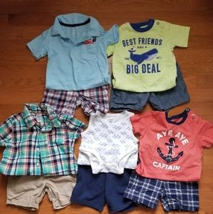 5 Carter's boy outfits